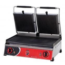 Elektrikli Çift Kapaklı Hamburger Makinesi 20 Dilim