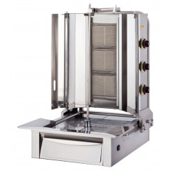 Lower Motor Shawarma Gas LPG CE Cooker 3 Radian