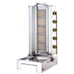 Lower Motor Shawarma Gas LPG CE Cooker 5 Radian