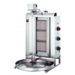 Lower Motor Shawarma Gas NG Cooker 3 Radian