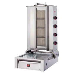 Lower Motor Shawarma Gas NG Cooker 4 Radian
