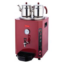 Silver Elit Çay Makinesi Kırmızı 23 LT