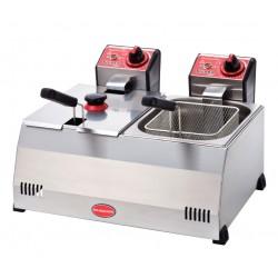 Deep Fryer Electric 5+5 LT